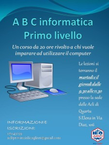 A B C informatica PRIMO LIVELLO