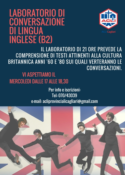 English conversation workshop - level B2