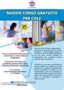 locandina corso Colf