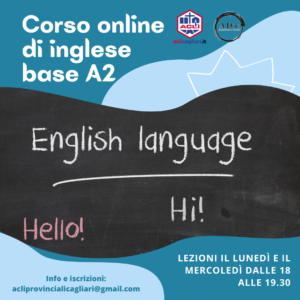 Corso online di inglese base A2